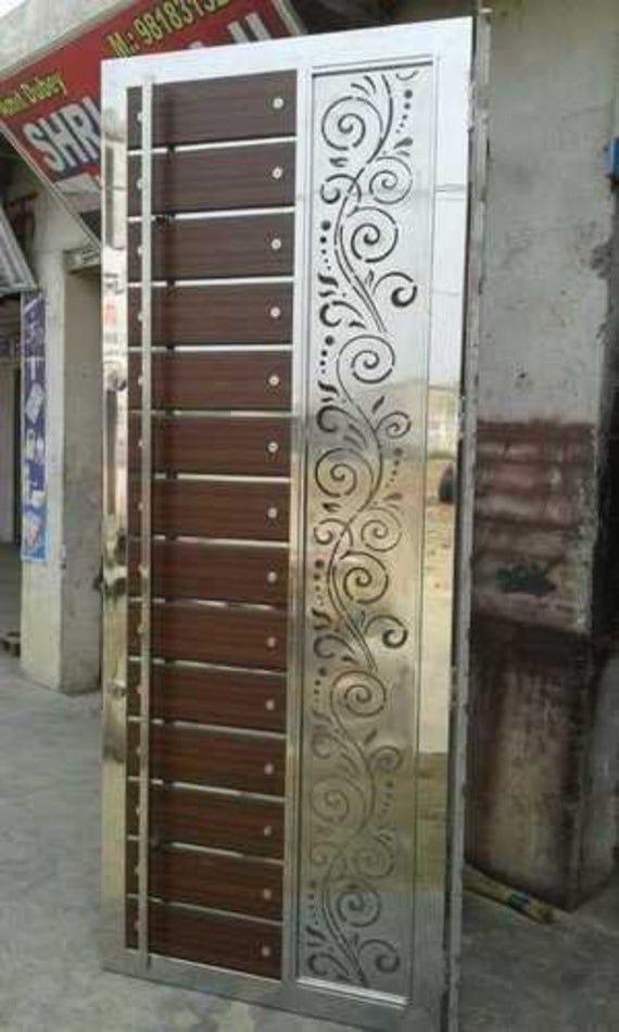 6 Decorative Panel Door Panels Stencil Templates Privacy Image 4 Steel Door Design Metal Doors Design Door Design Images