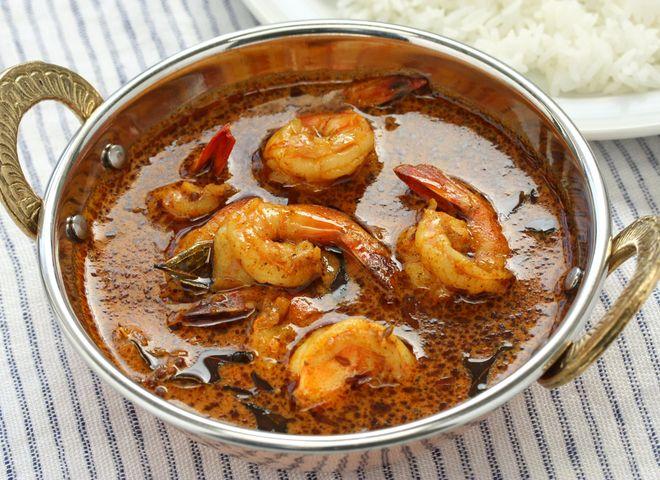 curry de crevette à l'indienne