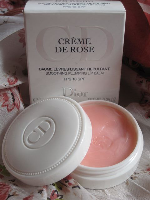 I know what I'm buying from Sephora next. Dior creme de rose lip balm