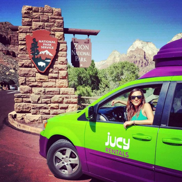 "Jucy is a stylish ""glampervan"" company as affordable as a standard rental car, as functional as an RV, and as cute as can be. Read my camper rental review!"