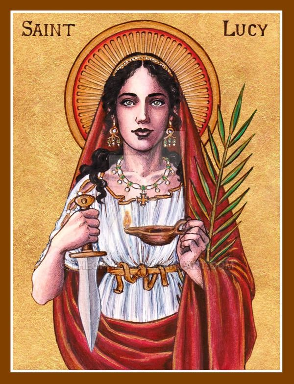 St. Lucy icon by Theophilia.deviantart.com on @DeviantArt