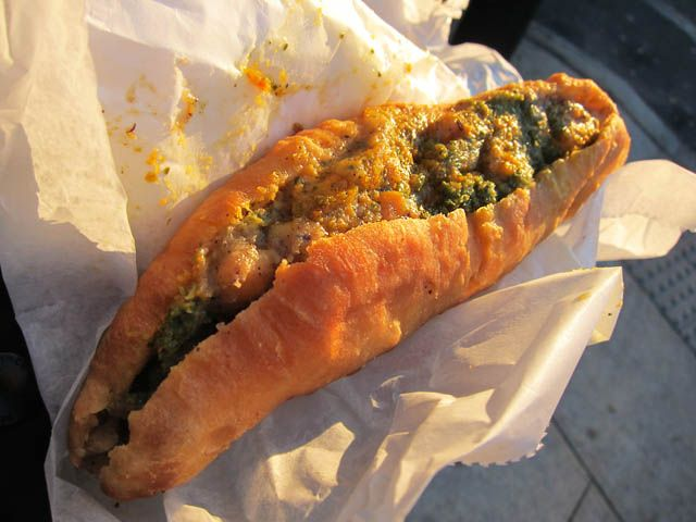 Aloo Pie - from the Guide to the Street Food of Trinidad and Tobago - TheConstantRambler http://www.theconstantrambler.com/trinidad-street-food-guide/