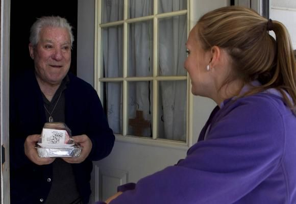 Home-delivered meals reduce loneliness, study finds - http://scienceblog.com/479751/home-delivered-meals-reduce-loneliness-study-finds/
