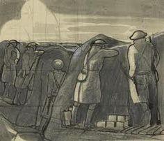 modern war paintings nash - Google Search