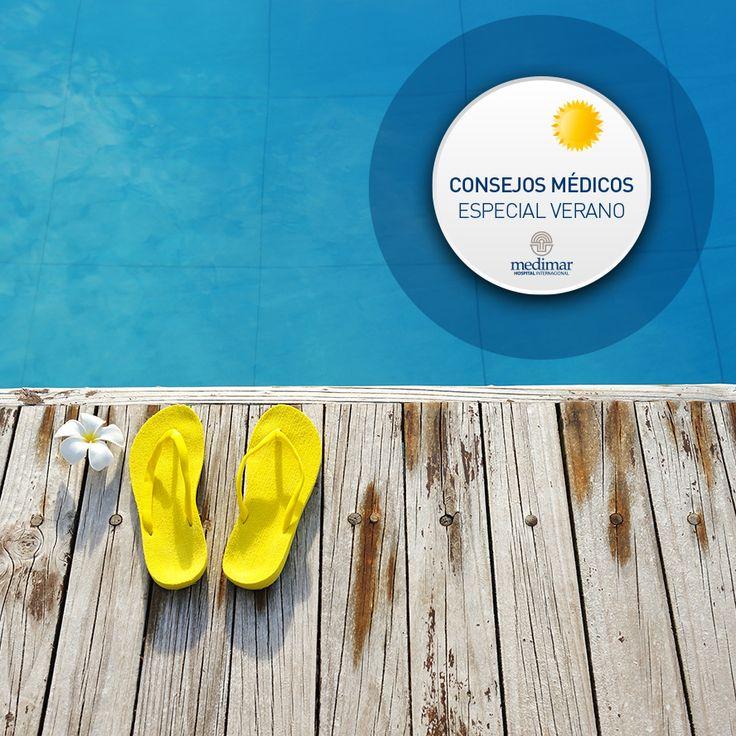No andes sin #chanclas por la #piscina porque podrías coger una infección por #hongos, ponte las #chanclas. Ver más #consejos especial #verano