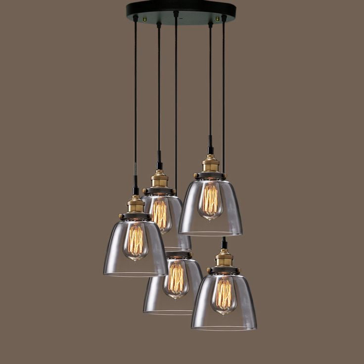 Best 25 edison bulb chandelier ideas on pinterest hanging edison lights live edge wood and - Hanging bulb chandelier ...