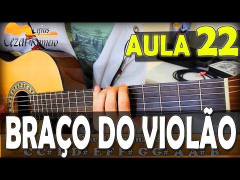 Aula de Violão 022 - Como descobrir todas notas no braço do Instrumento (escala) - YouTube