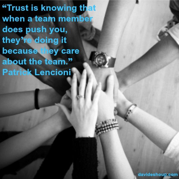 Inspirational Quotes | Patrick Lencioni #inspiration #davidshoup #quotes #patricklencioni #trust #team #accountability
