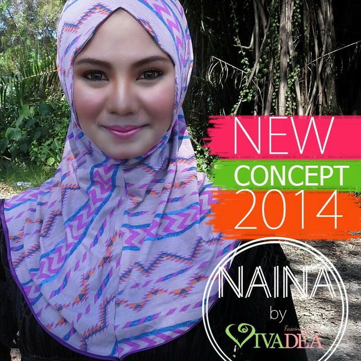 This is awesome! Model totally like a barbie doll with this scarf.. ♡_♡  NAINA l casual hijab l www.vivadea.com
