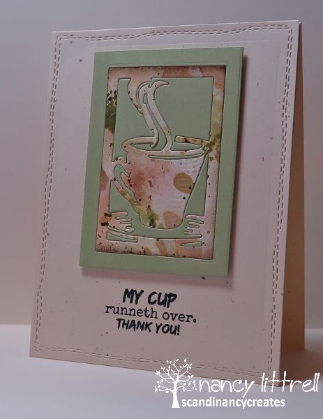 CAS Mix Up Inlaid Coffee Cup