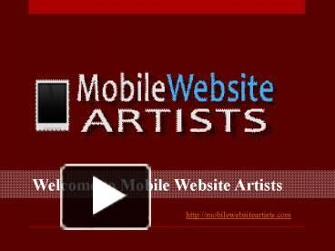 PPT – Mobile website design PowerPoint presentation | free to download