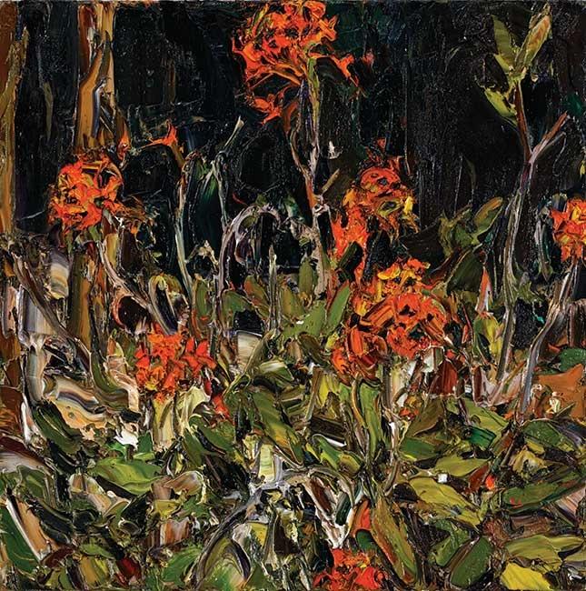 Nicholas Harding represented artist at Tim Olsen Gallery ~ Biography and artworks online