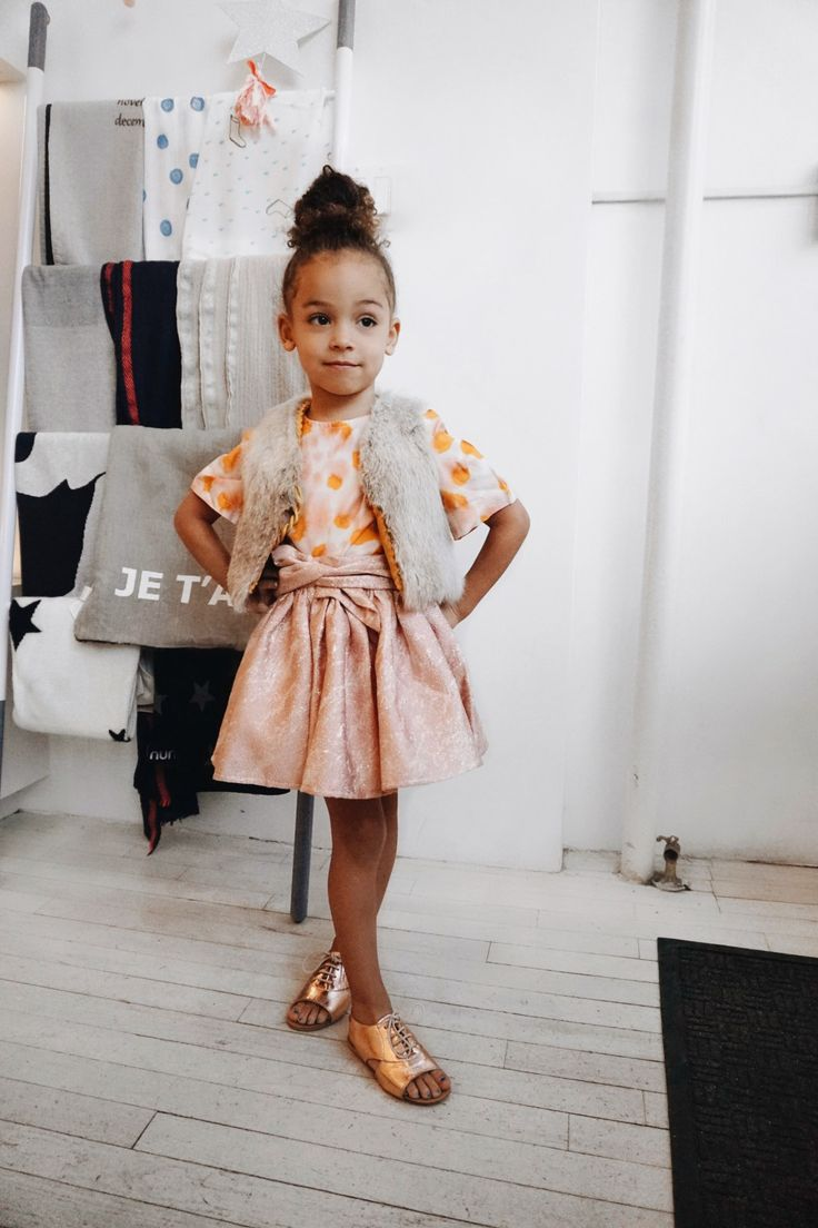 Cute Kids: London In Spring Fashion Style
