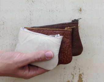 Check out Sale!! Leather Coin Wallet, Leather Coin Purse, Leather Coin Personalized, Leather Coin Pouch, Men's gift, Women's gift, Handmade with LOVE on plgdesigns