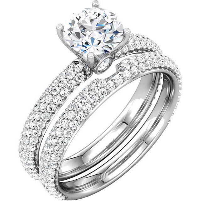 E Platinum Ring Dnd