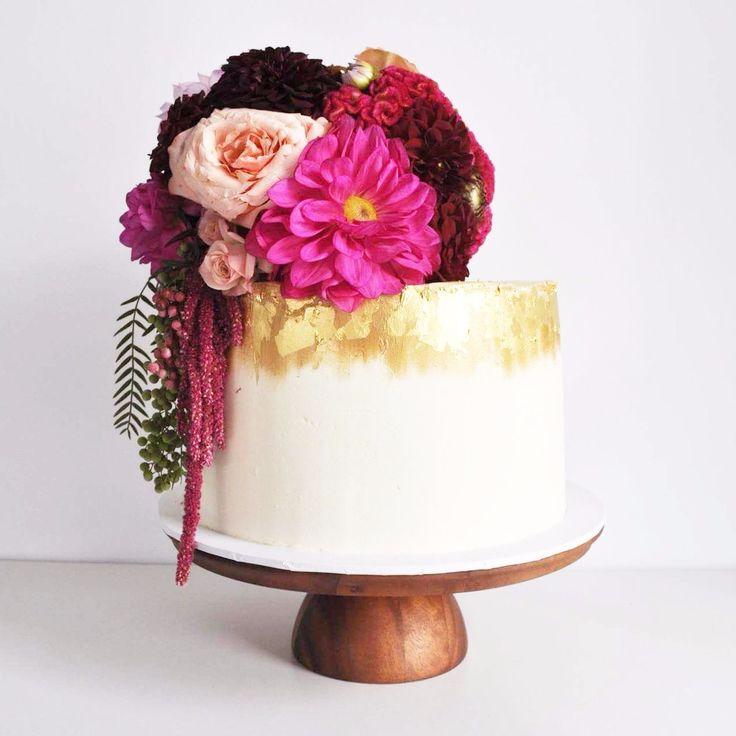 Petal And Peach Bespoke Cakery on WeddingVault.com This Brisbane cake baker and decorator has an incredible profile full of stunning wedding cakes to blow you away! #weddingcake #cake #dessert #weddinginspiration #weddingflowers