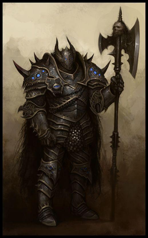Chaos Knight NPC - EA Mythic, © Games Workshop
