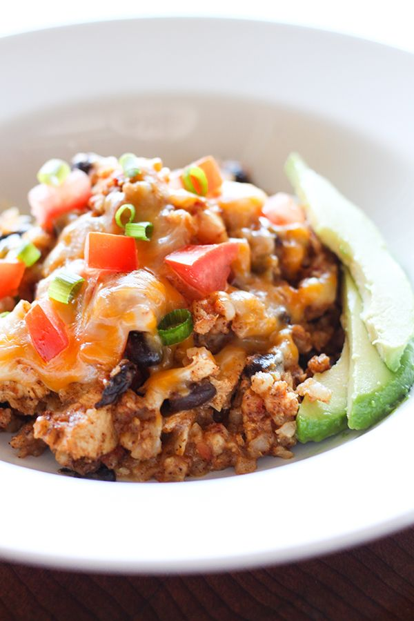 I'm really excited to finally share this Slow Cooker Chicken Burrito Bowl recipe. This is the slow cooker version of my popular one-pan chicken burrito bowl. Tender chicken simmered in a flavorful mix of Mexican seasonings combined with tasty black beans and brown rice, and topped with melty cheese, fresh ripe tomatoes and buttery …