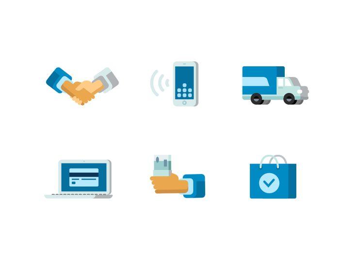 Business icons by Alex Lafaki