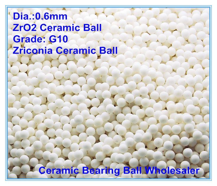 0.6 мм керамический шарик используется для клапана шар/подшипник/гомогенизаторы высокого давления/опрыскиватель/насос 0.6 мм Мяч из Циркониевой керамики ZrO2 G10