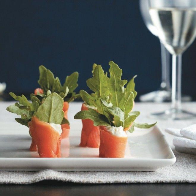 Smoked salmon and watercress wraps recipe - Chatelaine.com