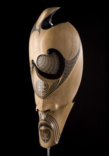 Tāne Mahuta • God of the Forest and its Creatures by Rex Homan, Māori artist (KR70902)