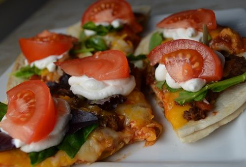 Kid Friendly Appetizer~ Personal Mexican Pizza - The Kid's Fun Review