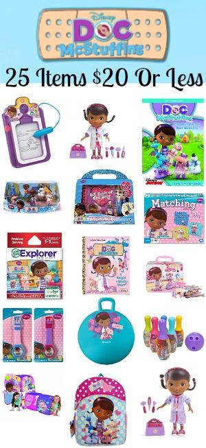 25 Doc McStuffins Deals All Under $20!