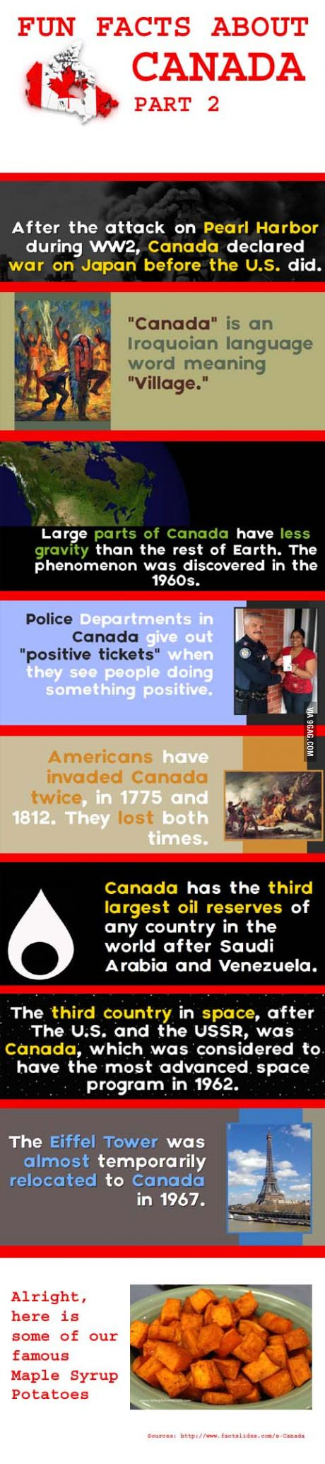 Fun Facts About Canada. Part 2