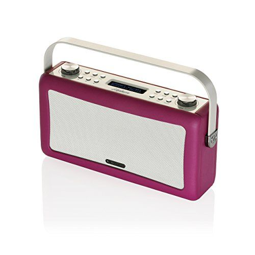 Deals week  VQ Hepburn DAB/DAB /FM Radio and Bluetooth Speaker - Deep Purple Best Selling