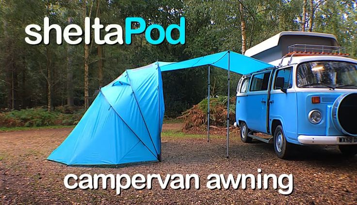 sheltaPod - the coolest, most versatile campervan awning EVER!