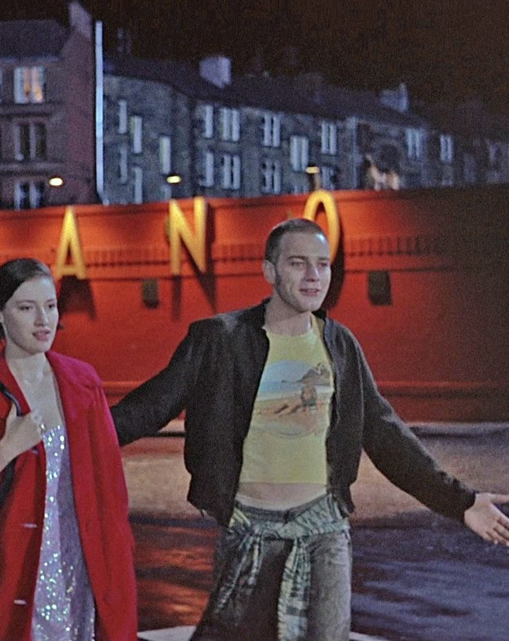 Diane & Renton, Trainspotting (1996)  via Arianna Perricone via Fer Luzifer