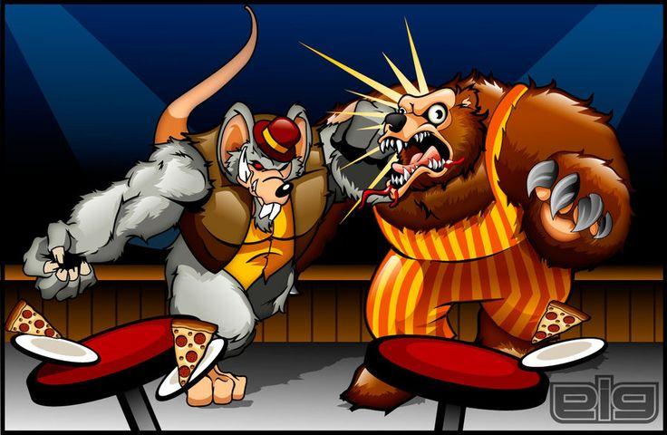 Chuck E Cheese vs Billy Bob by GIG-Arts.deviantart.com on ...