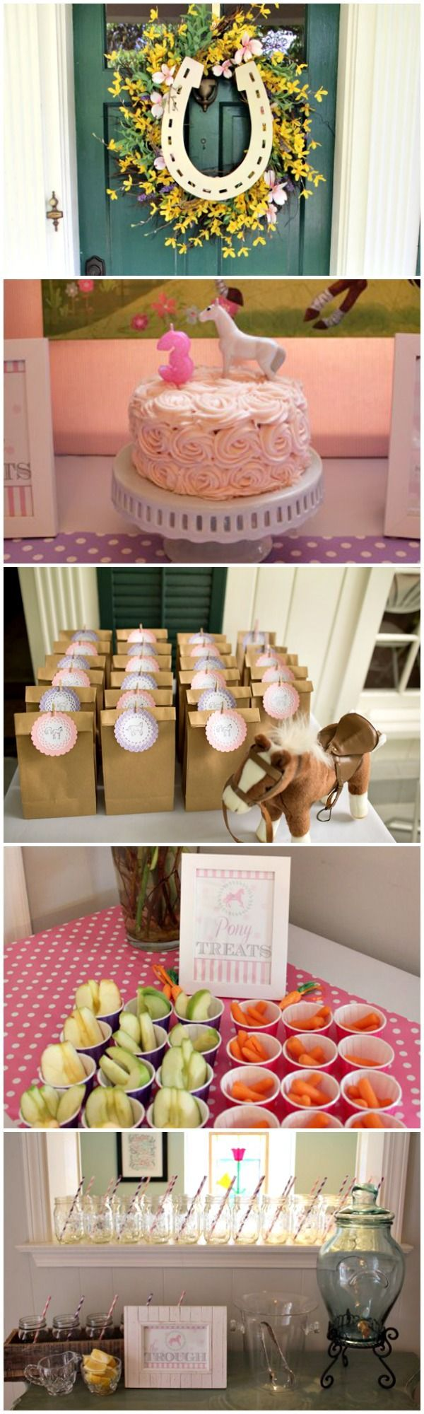 Darling budget-friendly Horse Party ideas