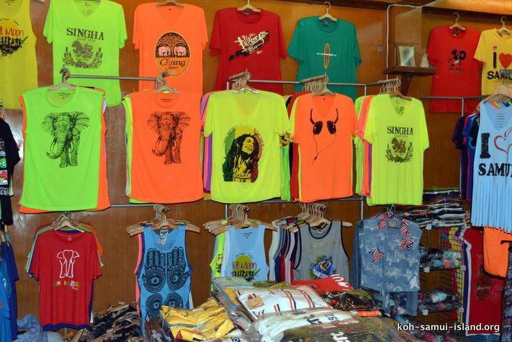 Koh Samui Island Info Picture Galleries | Nathon Shopping Gallery