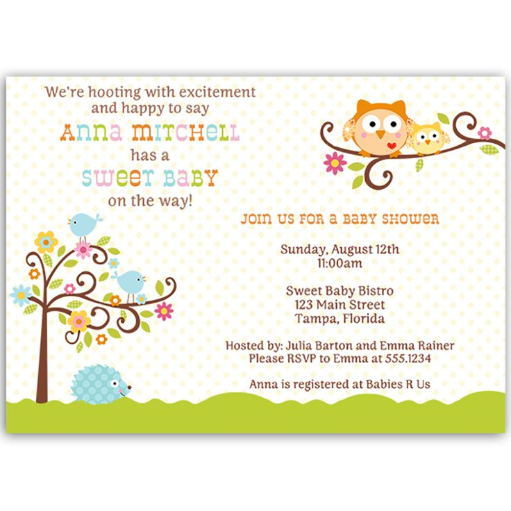 54 best Girl Baby Shower Invitations images on Pinterest | Baby ...