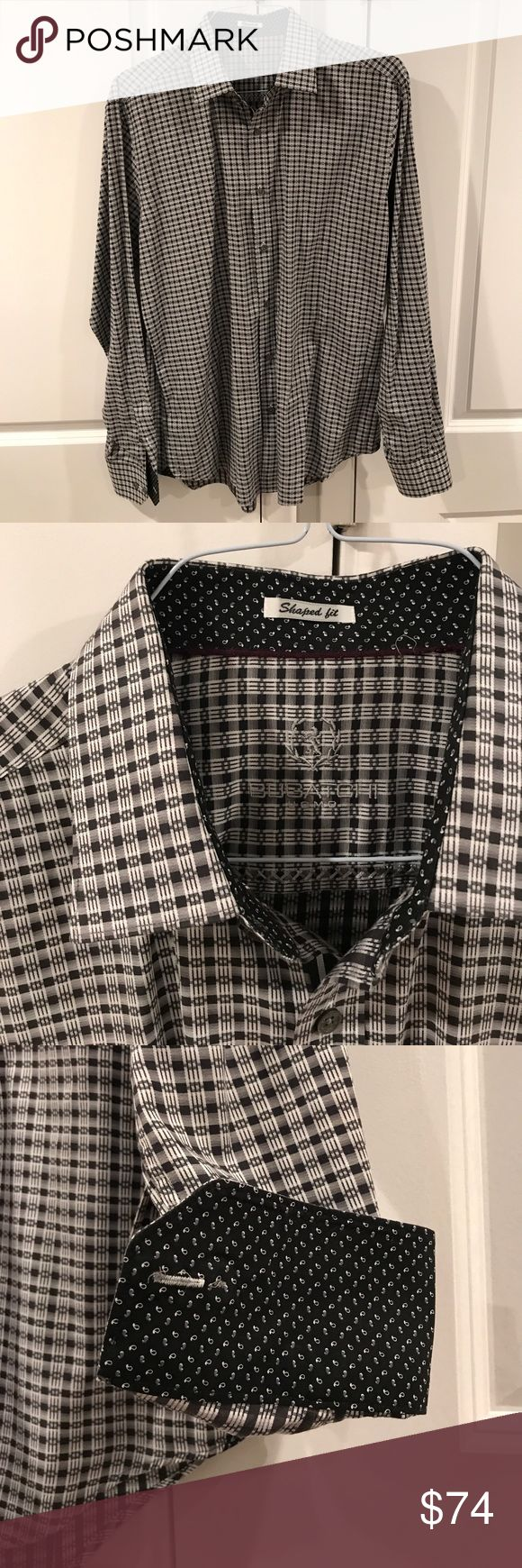 🚀 Bugatchi Uomo X-Large Shaped Fit Button Down Bugatchi Uomo Extra Large Shaped Fit Button Down Shirt. This shirt has been worn a few times and is in excellent condition. Please ask if you have any questions and bundle for a better deal! Thank you 🚀 Bugatchi Shirts Casual Button Down Shirts