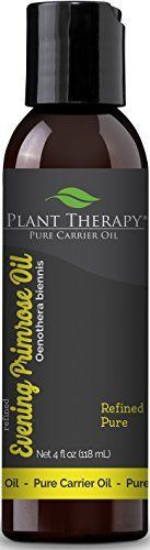 Plant Therapy Evening Primrose Carrier Oil A Base Oil for Aromatherapy Essential Oil or Massage use 4 oz >>> Continue to the product at the image link.