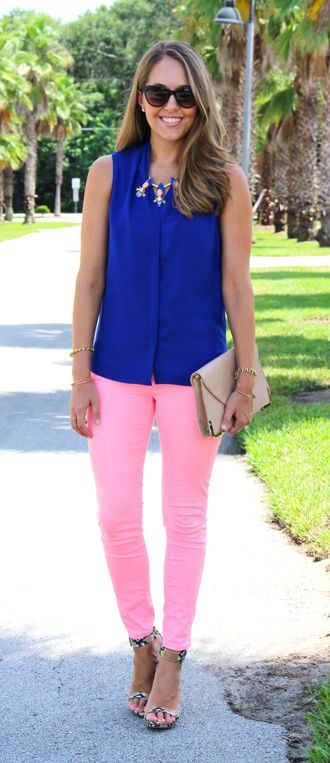 Zara Pink Jeans