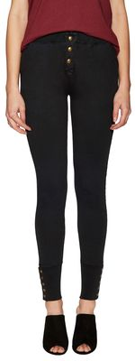 Cotton Buttoned Sweatpant #buttoned #cotton #fashion #100cotton #madeofcotton #blackpants #sweatpants #blacksweatpants #RagDoll #gilt #clothing
