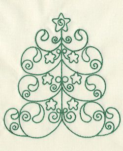 Designs in Stitches - Ornate Christmas Trees