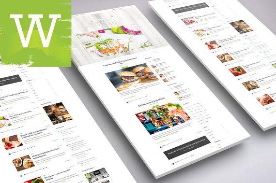 Food WordPress Blog Theme  Best WordPress Blog Theme  by wordica