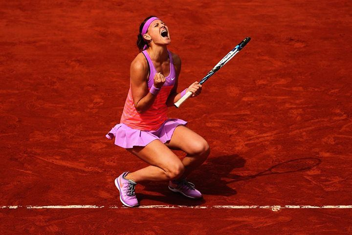Lucie Safarova Roland Garros 2015