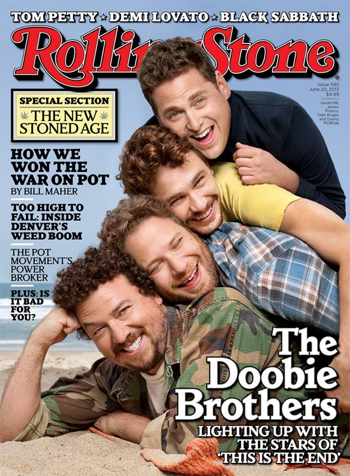 This is the End Rolling Stone - James Franco, Seth Rogen, Jonah Hill and Danny McBride