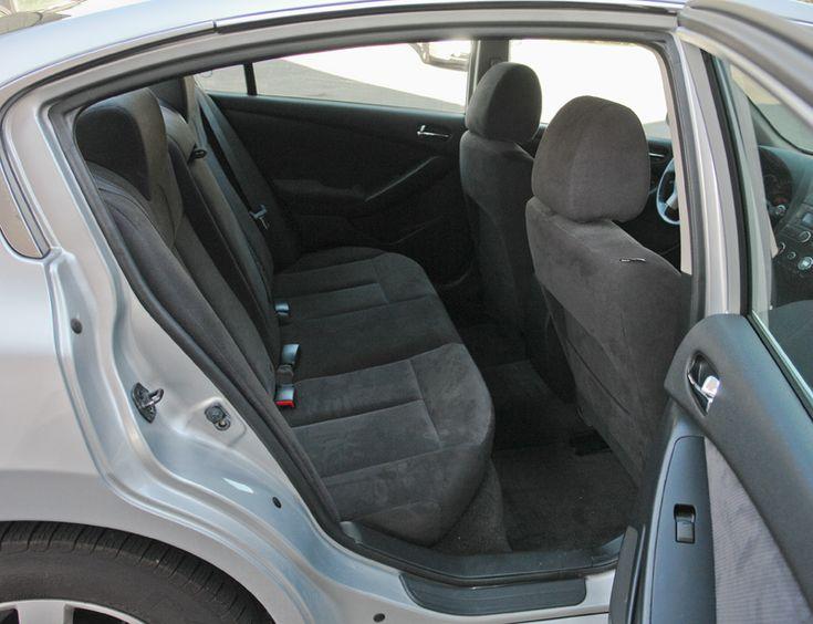 2008 Nissan Altima hybrid rear seat