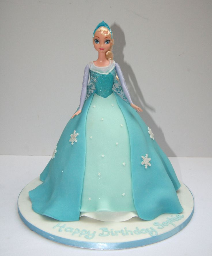 295 best Cakes Queen Elsa images on Pinterest Elsa cakes