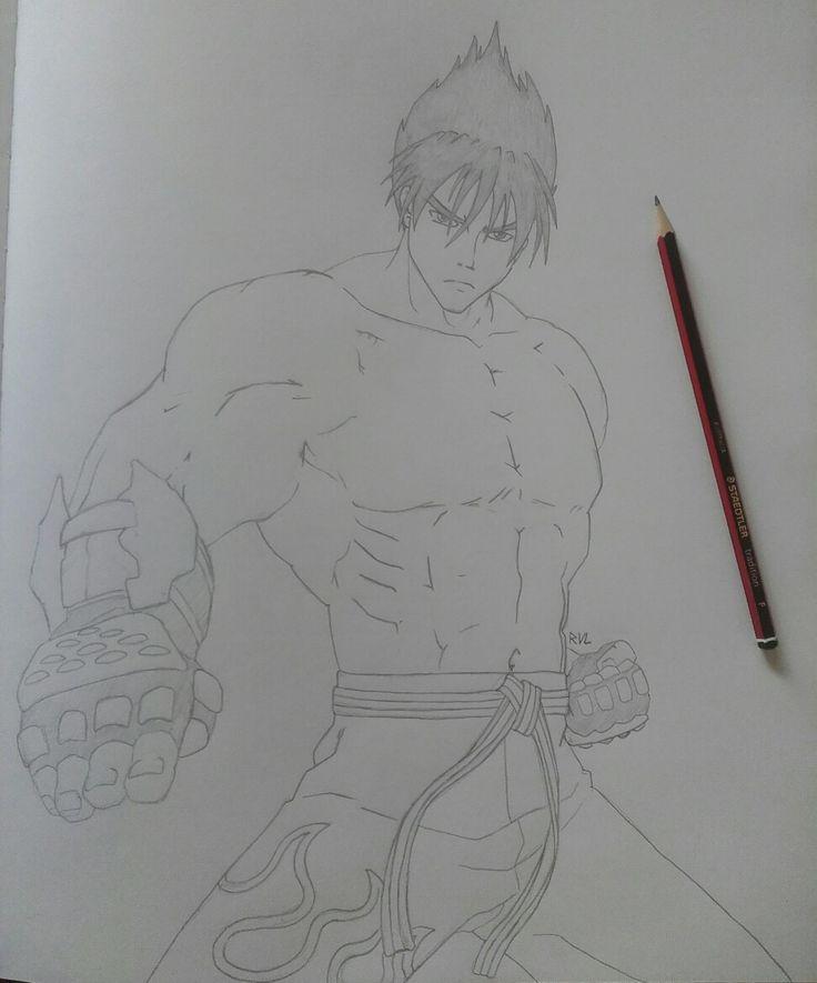 Jin Kazama Tekken Drawing