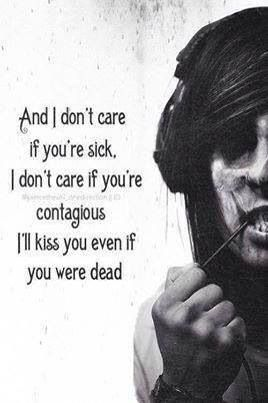 Pierce The Veil ~ I Don't Care If You're Contagious