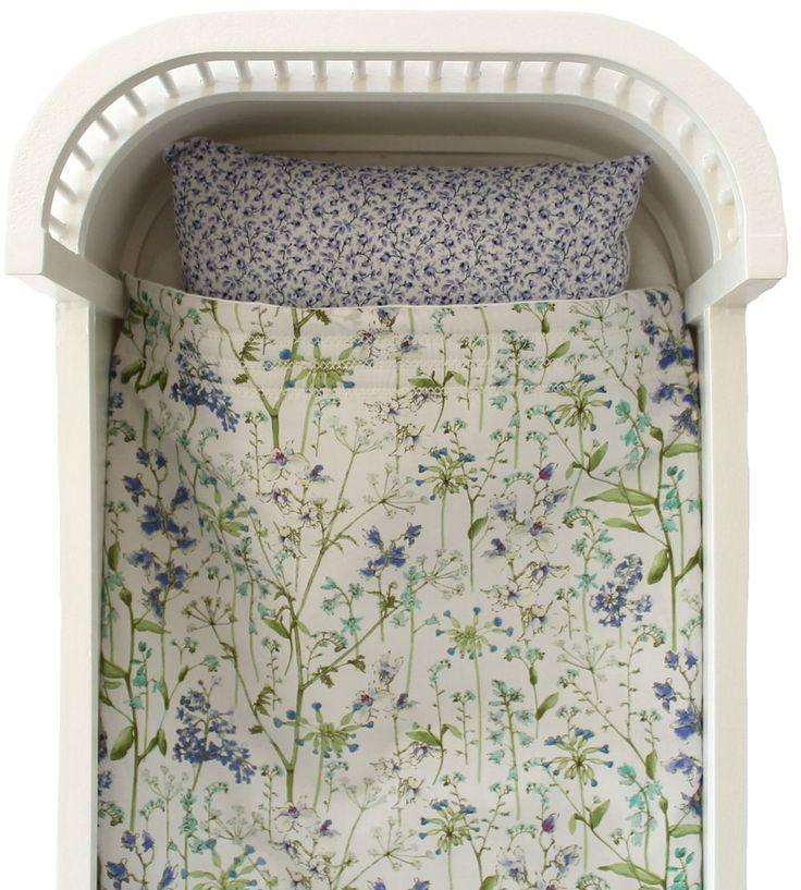 Liberty Print Dolls Crib Bedding Set - Theodora