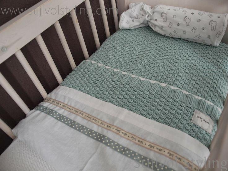 Kleur | Inspiratie voor de Babykamer  Kinderkamer in mintgroen www.stijlvolstyling.com